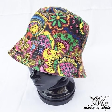 クレイジーカラー ハット HAT ペイズリー系 ギャング 25