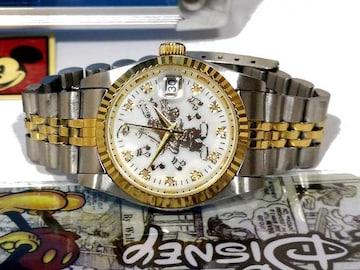 極美品【箱・ギャラ付】ミッキーマウス【2000個限定】腕時計