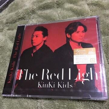the red light新品未開封KinKi Kids初回限定CD+DVDキンキキッズ