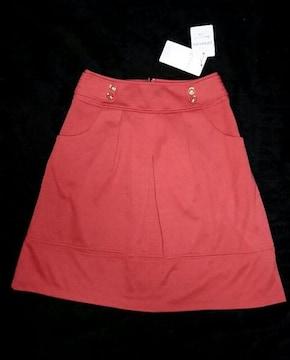 訳あり 新品 グローブ grove 定価3990円 スカート 赤 レッド