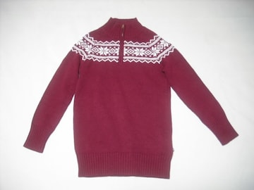 74 女 RALPH LAUREN ラルフローレン ジップセーター Mサイズ