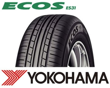 ★145/80R13 緊急入荷★ヨコハマ ECOS ES31 新品タイヤ 4本セット