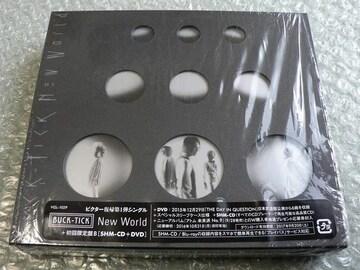 BUCK-TICK『New World』初回限定盤B【CD+DVD】LIVE映像収録
