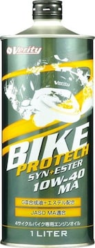 ☆ Verity BIKE. PROTECH. SYN+ESTER 10W-40. MA. 1L缶×3.