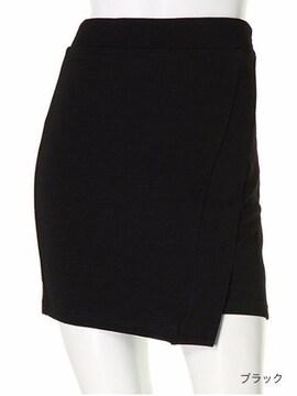 即完売★LIPSERVICE リップサービス★ラップデザインタイトスカート ブラック/M 新品