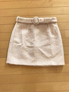 dazzlinベルト付きスカート