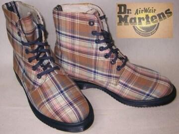 ドクターマーチン 7ホール キャンバス ブーツ14351250BG uk6