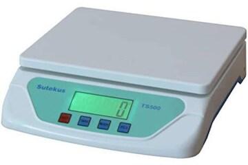 色ホワイト Sutekus 1g単位 最大25Kgまで計量可能 デジタル