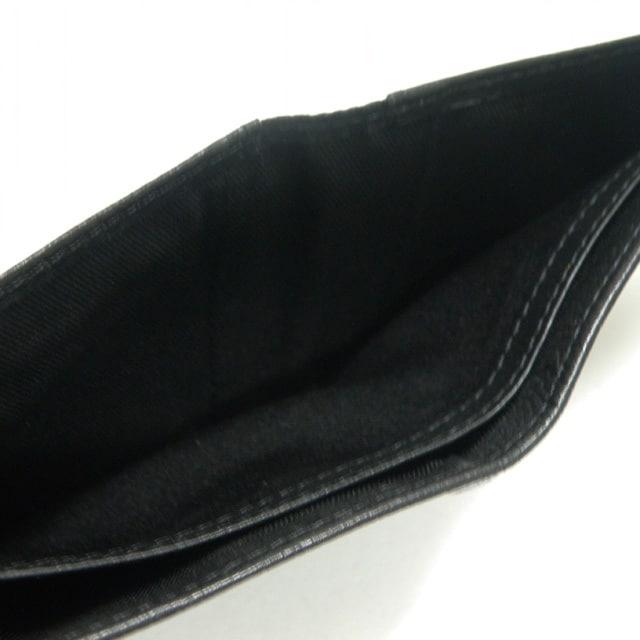超美品 カルバンクライン 二つ折り財布 黒 良品 正規品 < ブランドの