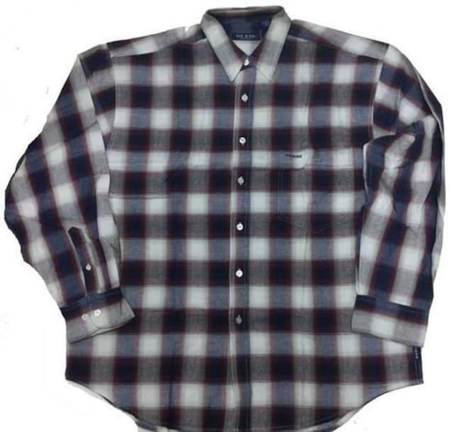 90sデッドストBBOY系 GUESS USA ゲスチェックシャツ ダンザーバギー OGヒップホップ  < ブランドの