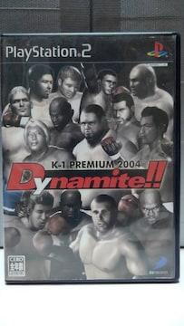 PS2 K-1 PREMIUM 2004 Dynamite!!