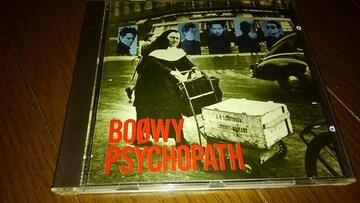 CDソフト BOOWY/PSYCHOPATH