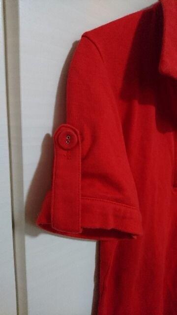 M.deux  エムドゥ ポロシャツ 赤 < ブランドの