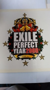 EXILE  PERFECT  YEAR  2008👧ステッカー