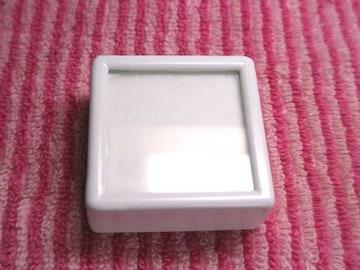 4cmルースケース(白)20個セット  裸石やアクセサリーに