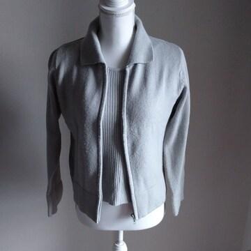 セットアップ☆半袖セーター&長袖カーデ