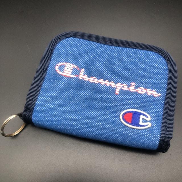即決 Campion チャンピオン 二つ折り財布  < ブランドの