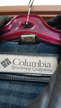 コロンビア レザージャケット サイズ XL 美品