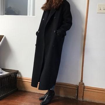 TK257即決 新品 ロングコート 黒 M マウジー スライ GU ユニクロ イング 好きに