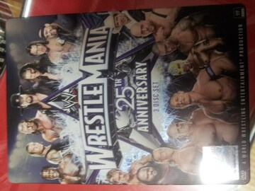 WWE レッスルマニア25 日本国内版 DVD/定価9240円/アメトーークWWE芸人