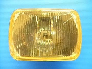 当時物 黄色1個 ピア 角目2灯 ヘッドライト 旧車