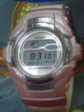 CASIOGショックBaby-GレディースBG-1100デジタルクオーツ腕時計ピンク
