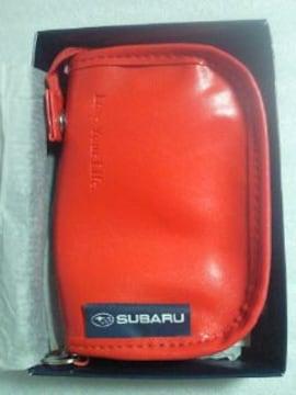 富士重工業 スバル HARVEST LABEL コラボ 財布 ウォレット レッド 非売品