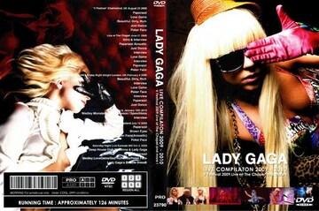 ≪送料無料≫LADY GAGA LIVE COMPILATION 2009-2010レディーガガ