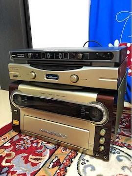 DAM-G100とDAM-A100とmodel-800Proカラオケセット!スピーカー付