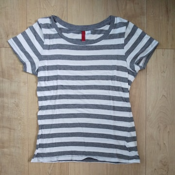H&M  ボーダーTシャツ