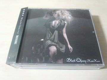倖田來未CD「Black Cherry」限定盤DVD2枚付き●