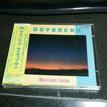 CD「ネイティブ・サン/デイブレイク」85年盤