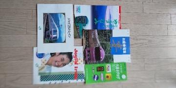 JR東日本新幹線やジョイフルトレインの冊子色々です