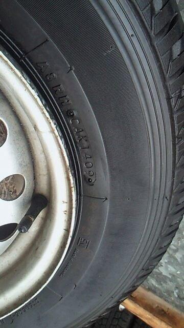 165R14LT6PR 09製 < 自動車/バイク