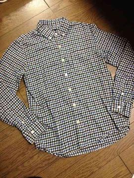 美品RAGEBLUE  チェックシャツ  レイジブルー
