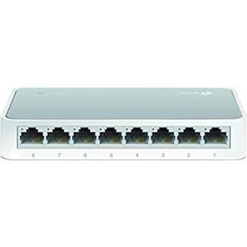サイズ8ポート TP-Link 8ポートスイッチングハブ 10/100Mbps プ
