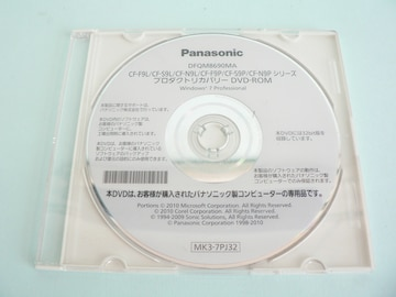 Panasonic CF-F9L/S9L/N9L/F9P/S9P/N9P Windows 7 Pro