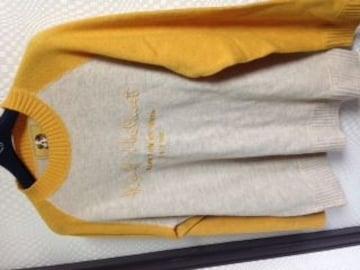 カールヘルム  ウール100長袖セーター