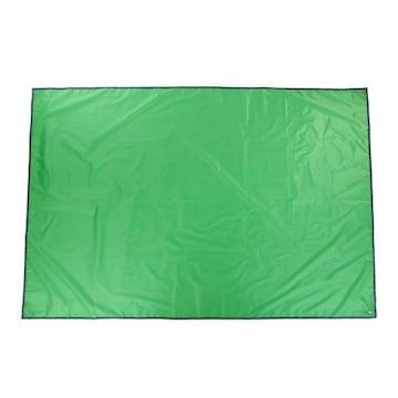 レジャーシート 防水仕様 全4色/3サイズ ライトグリーン, S
