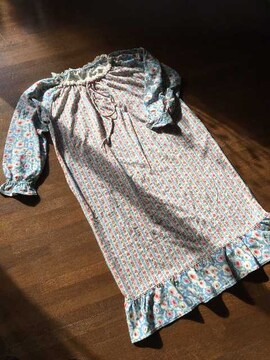 【tsumori chisato】sleep新品ネグリジェパジャマふわふわドレス
