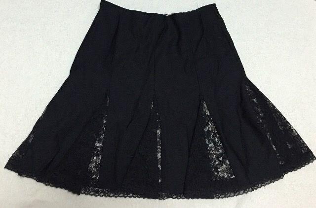 ディアマンテ☆黒×ヒョウ柄スカート  < ブランドの