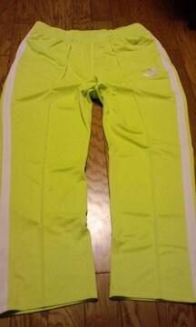 championチャンピオン 白ラインジャージ 黄緑色 サイズXXXL3XL  新品