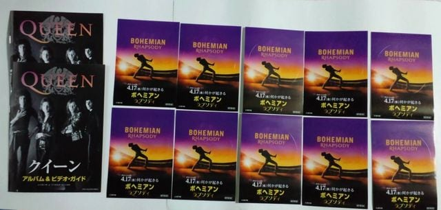 オマケ付 クイーン「3枚組ベスト プラチナムコレクション」ボヘミアン・ラプソディ < CD/DVD/ビデオの