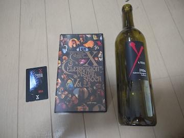 X JAPAN VHS 新品テレカ ワイン空き瓶 まとめ売り YOSHIKI hide