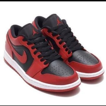 NIKE AIR JORDAN 1 LOW GYM RED BLACK オマケ付き