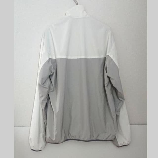 美品 カーハート ナイロン ジャケット ブルゾン グレー 白 WIP < ブランドの