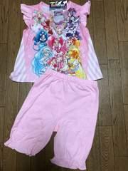 新品格安!《HUGっと!プリキュア》光る勇気ブレスパジャマ110cm