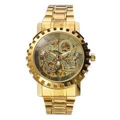 激安商品♪メンズ腕時計ゴールド 軽量 自動巻き メッキ