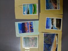 〔使用済み〕記念切手7枚まとめてセット 観光地等