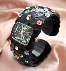 プラスティックバングルウォッチBKMC-腕時計